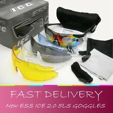 ESS ICE 2.4 sunglasses Eyeshield 5LS UV400 System 740 Ballistic Safety goggles