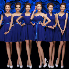 Sexy Party Evening Wedding Bridesmaid Prom Graduation Ball Short Dress Formal &4