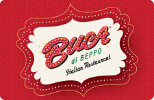 Buca di Beppo Gift Card $25 - $100 US Mail Delivery