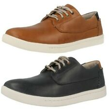Men's Clarks Midcut Casual Sporty Lace Up Shoes Newood Fly