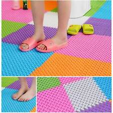Bathroom/Kitchen Splicing Non-slip Bath Shower PVC Massage Floor Mat Pad Carpet
