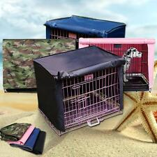 """Pet Dog Crate Cage Kennel COVER Breathable Waterproof 18""""/36"""" S-XL"""