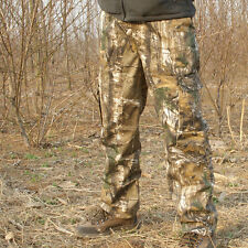 Outdoor camouflage hunting leaves breathable cotton camo trousers for  Fishing