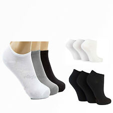 6X Trainer Liner Ankle Socks Mens Womens Cotton Rich Sport