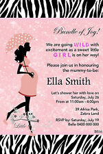 Personalised Baby Shower Printable Party Invite Invitation card
