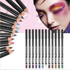 New 12 Piece Me-Now Dual Purpose Eye/Lip Liner Pencils Black and Mix Colour UK