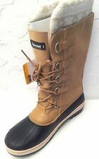 "OZARK TRAIL* - Men Size ""11"" BROWN Leather- Thinsulate Temp Rated -25 F Boots"