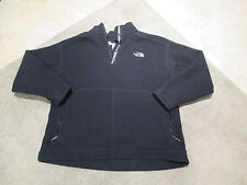 VINTAGE The North Face Fleece Jacket Size Adult Extra Large Made in USA Black XL