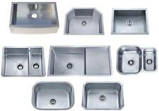 Stainless Steel Undermount Butler Belfast Kitchen Sink 1.0 Bowl | 1.5 Bowl