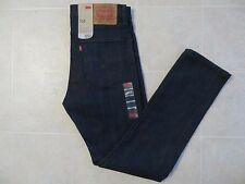 LEVIS 510 Mens Skinny Fit Leg Stretch Black Denim Jeans Pants Sz 32X32 34X32 NWT