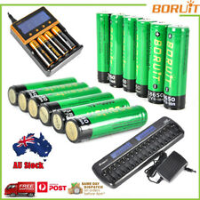 Rechargeable 4000mAh 18650 3.7V Li-ion Battery AA/AAA Ni-MH/Ni-Cd AU i4 Charger