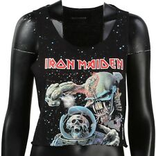 Eleven Paris x Iron Maiden Women Iron1 Crop Tee black