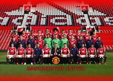 MANCHESTER UTD. *UNOFFICIAL* print poster A3 (1) Football chelsea city liverpool