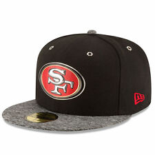 San Francisco 49ers New Era 2016 NFL Draft 59FIFTY Fitted Cap Hat – Black/Hea...