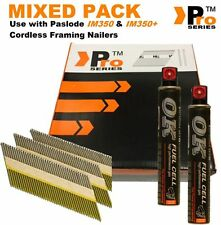 Mixed Pack Framing Nails 2k nails+2Fuel Cell,Paslode im350 & im350+ Hitachi  005