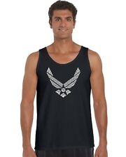 Men's Tank Top - Lyrics To The Air Force Song