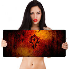 Soft Speed World of Warcraft Gaming Gamer Mouse Mat Laptop PC Keyboard Mouse Pad