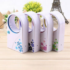 Portable Fans No Leaf Mini Mute Bladeless Refrigeration Desktop Air Conditioner