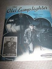 Vintage Music Sheet-The Old Lamplighter-1946-Max and Harry Nesbitt