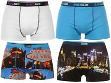 Giorgio 2 Pack Hipster Print Boxers Mens Trunks Underwear ~All sizes S - XXL