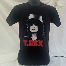 Marc Bolan T-Rex Slider T-Shirt BLACK sizes Small to 3XL