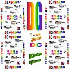 Hot new design fashion style unisex DG eyewear in 5 different color