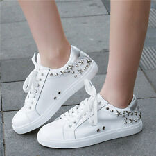 New Womens Shoes Real Leather Fashion Sneakers Flat Summer Sport Sandals Oxfords