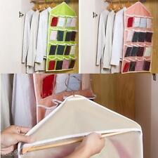16Grids Door Bedroom Wall Clothes Socks Sorting Hanging Storage Bag Manager Case