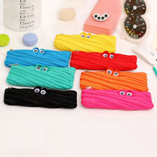 Animal Eyes Style School Pencil Stationery Box Storage Bag Stationery Cases ATAU