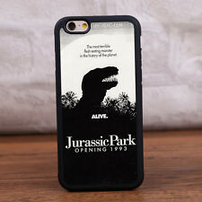 Movie Jurassic Park Silicone Rubber Skin Case Phone Cover for iPhone Samsung