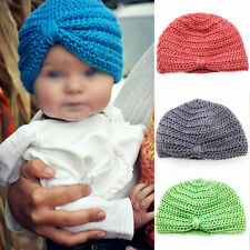 Stylish Comfy Baby Girls Boys Infant Toddler Knit Crochet Cap Soft Beanie Hat