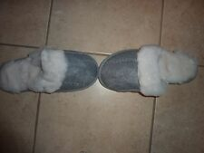 VICTORIAS SECRET VS PINK FAUX FUR SLIPPERS NWT
