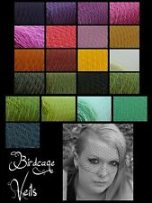 20+ unique colors Birdcage veils made with bobby pin or comb
