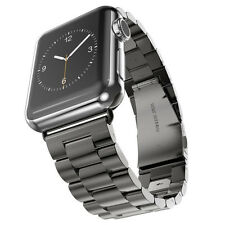 Stainless Steel Metal Strap Watch Band Buckle Wrist Watch Strap for Apple Watch