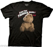 Ted Movie Sing The Thunder Song T-Shirt Black