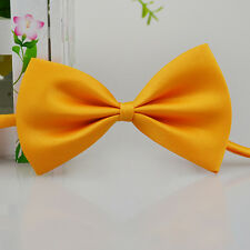 HOT!! Baby Boys Kids  Infant Solid Color Wedding Tuxedo Bowties Bow Tie Neckwear