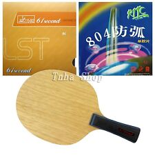 61second 3003 Blade with Lightning DS LST/ RITC729 804 Rubbers for a racket