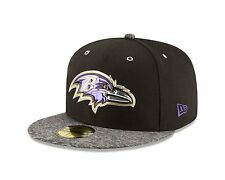 Baltimore Ravens New Era Black/ Gray 2016 NFL Draft On Stage 59FIFTY Fifty Hat