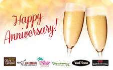 Longhorn Steakhouse - Happy Anniversary Gift Card $25 $50 $100 - Email delivery