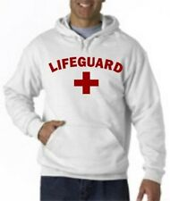 LIFEGUARD HOODIE HOODY JACKET SWEATSHIRT LIFE GUARD Small-2XL Arched front