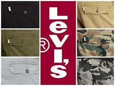 Levis Mens Relaxed Fit Ace Cargo Pants Black Beige Grey Green 30 32 34 36 38 40