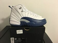 New 2016 NIKE AIR Jordan Retro 12 XII FRENCH BLUE 130690-113 GS YOUTH 3.5-7Y DS