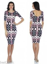 Jane Norman Gypset Print Midi Dress Size 8 to 14