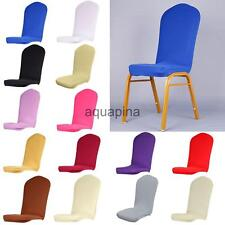 Stretch Short Washable Dining Room Stool Chair Cover Slipcover Wedding Decor