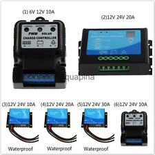 Waterproof Auto PWM Solar Panel Cell Battery Regulator Charge Controller
