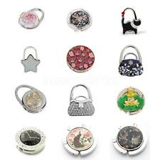 Folding Hangbag Hanger Purse Bag Table Hook Rhinestone Holder Travel Gift Decor