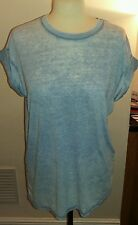 Atmosphere blue top size 12