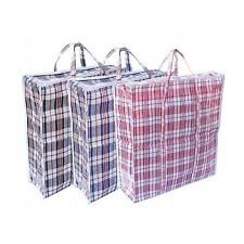 Jumbo Laundry Bags Zipped Reusable Large Strong Shopping Storage Hydroponic Bag