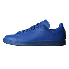 New Mens adidas  Stan Smith Adicolor Trainers - Blue 100% Leather