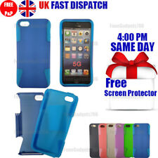 SHOCK PROOF HYBRID SILICONE CASE FITS Apple iPhone 5G 5S SE